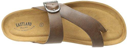 Sandalo Da Scivolo Per Donna Di Eastland Naturale