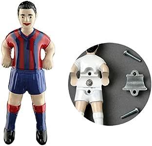 Jugador futbolin Linares SM para Barra 14mm Real Sociedad 1 unid: Amazon.es: Deportes y aire libre