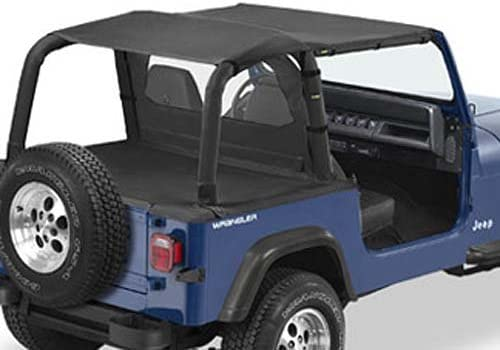 Bikini Version Safari Jeep Wrangler YJ Black Denim Couleurs