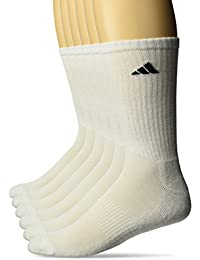 Mens Athletic 6-Pack Crew Socks