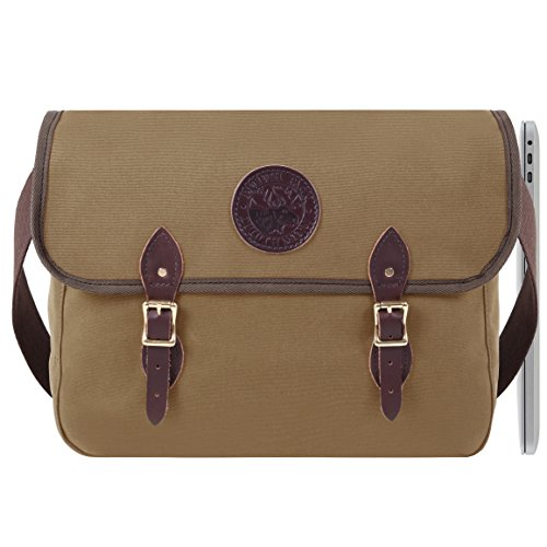 Duluth Pack 15-Inch Laptop Book Bag, Tan, 11 x 16 x - Duluth Mall