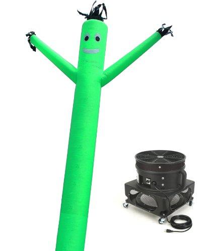 Torero Inflatables Air Dancer Sky Puppet and Blower Set, 20-Feet, Green
