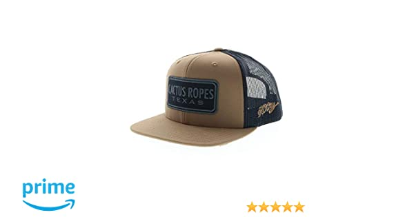 Amazon.com: Hooey Mens Hooey Cactus Ropes Mesh Trucker Cap Black One Size: Clothing