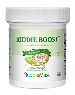 Maxi Health Kiddie Boost - Multivitamins - Children's Immune Support - 0.91 Ounce Powder - Kosher