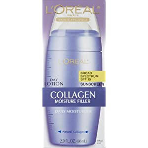 L'Oreal Paris Collagen Moisture Filler Facial Day Lotion SPF 15, All Skin Types