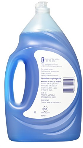Dawn Ultra Dishwashing Liquid Dish Soap, Original Scent, 2 count, 56 oz. (Packaging May Vary)