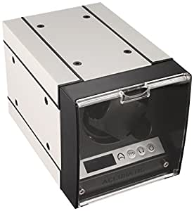 The Expandable Automatic Watch Winder w/Digital LCD Display White