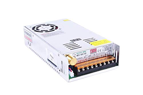 (LM YN DC 0-80V 6A Adjustable Switching Power Supply Industrial Grade High-precision High-stability CE & ROHS Certification For Industrial Control, Communications, Scientific Research, Civil Equipment)