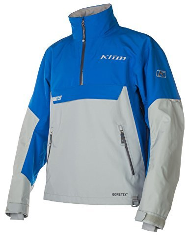 Klim Mens Powerxross Parka Jacket - Blue / Medium (Blue Industry Textile Jacket)