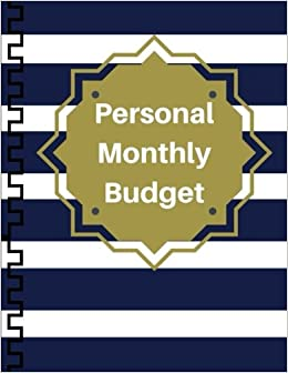 photograph about Month at a Glance Budget called Individual Every month Price range: Financial commitment Tracker Invoice Organizer