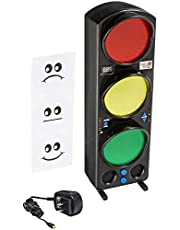 """Yacker Tracker Noise Level Monitor Detector - Visual LED Traffic Signal Light - Great for Schools, Classrooms, Cafeterias, Hospitals and More - 17"""""""