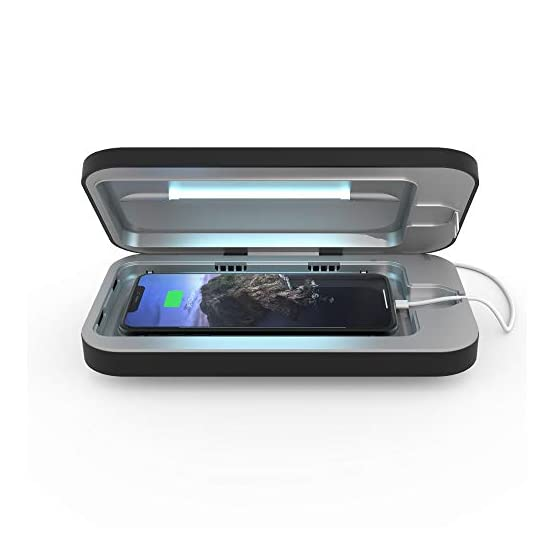 PhoneSoap-3-UV-Cell-Phone-Sanitizer-and-Dual-Universal-Cell-Phone-Charger-Patented-and-Clinically-Proven-UV-Light-Sanitizer-Cleans-and-Charges-All-Phones-Black-1-Single