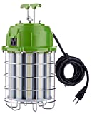 PowerSmith PTLK52-150 New 18,000 Lumen High Bay Temporary LED Hanging Daisy Chain Work Light with 10 ft Power Cord Large Green
