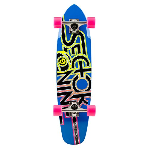 Sector 9 Wedge Complete Skateboard, Blue