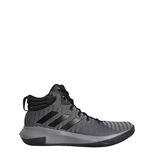 Adidas Pro Elevate 2018 - Zapatillas de Baloncesto para Hombre, Gris, Negro, Gris, 10.5 M US