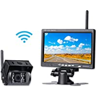 "Chuanganzhuo Wireless Backup camera and monitor kit, built-in Wireless Car Rear View Camera+Built-in Wireless 7"" 7inch High Definition TFT LCD Monitor,for Bus, Truck, Trailer, Van,lorry"