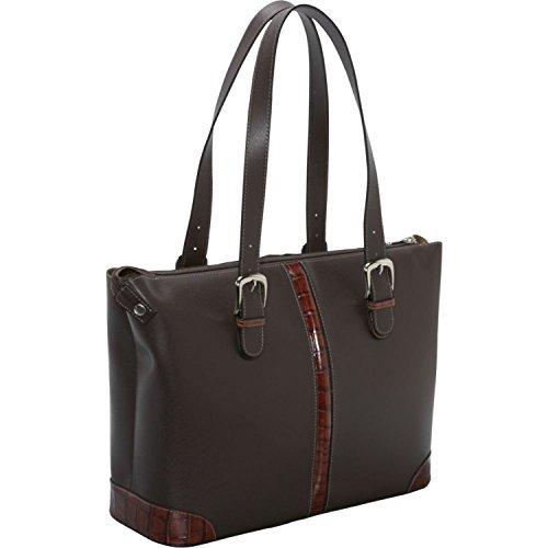 Jack Georges Prestige Collection Madison Avenue Tote W/Croco Trim in (Jack Georges Italian Leather Handbag)