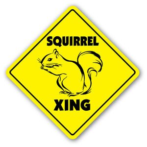 SQUIRREL CROSSING Sticker Stickers animals product image