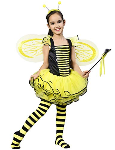 Sweet Bee Toddler Costumes - IKALI Bumble Bee Costume for Girls,