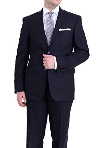Mens 140's Wool Suit - 4