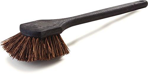 (Carlisle 36513L00 Natural Fiber Utility Scrub Brush, Palmyra, 20