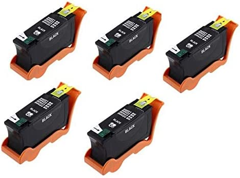 SuppliesMAX Compatible Replacement for Dell P513//P713//V313//V515//V715W Black High Yield Inkjet Series 21 5//PK 5BLKV313W