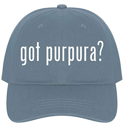 The Town Butler got Purpura? - A Nice Comfortable Adjustable Dad Hat Cap, Light - 30 Echinacea Caps