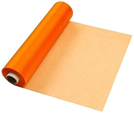 Amazon.com: Sheer Organza Orange 29cmX25m: Home & Kitchen