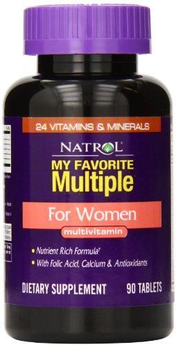 Natrol Favorite Multiple Multivitamin Tablets