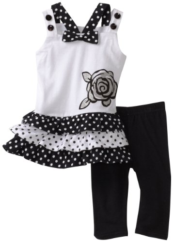 Young Hearts Baby Girls' Long Tunic With Pant Set