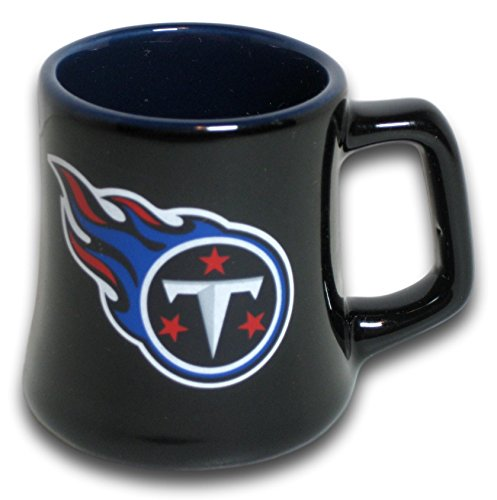 Boelter Tennessee Titans 2 Ounce Sculpted Ceramic Mini Shot Glass Mug - Series 2