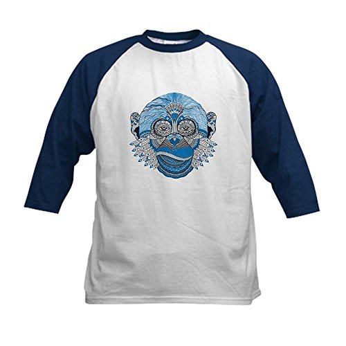 - Truly Teague Kids Baseball Jersey Chinese New Year Monkey 2016 Lucky Blue - Navy/White, Medium (10-12)