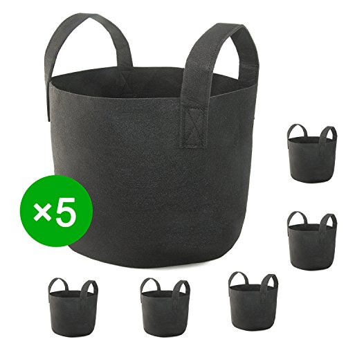 7 gallon fabric pot pack - 7