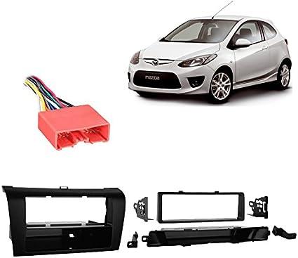 SCOSCHE MA1536B 2004-09 Mazda 3 Single DIN w//Pocket Install Dash Kit