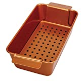 Best Meatloaf Pans - Copper Meatloaf Pan Professional Non-Stick 2-Piece Healthy Meatloaf Review