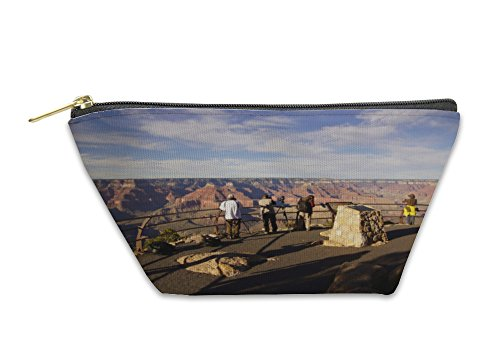 Gear New Accessory Zipper Pouch, Tourists Take Picutres Near Powell Point, Large, 5602486GN by Gear New