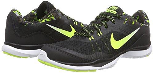 Flex black Ginnastica cargo Khaki Print Grey Trainer 5 Nike wolf Scarpe Nero Donna Da white dgzYxqU
