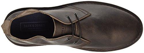 Uomo Marrone Brown JONES Stivali Desert Leather Jfwgobi Chocolate JACK amp; Boots Chocolate Brown wvxqUOgzZ