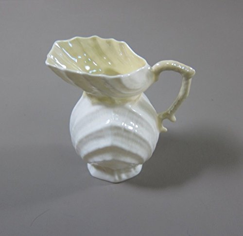 Belleek DOUBLE SHELL Creamer (Scalloped Base) EXCELLENT 4th Generation Backstamp