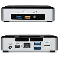 Intel Nuc Desktop/HTPC, 5th Generation Intel Dual-Core i3, 16GB DDR3, 250GB SSD M.2 Sata, Wifi, Bluetooth, 4K Support, Windows 10 Professional 64Bit