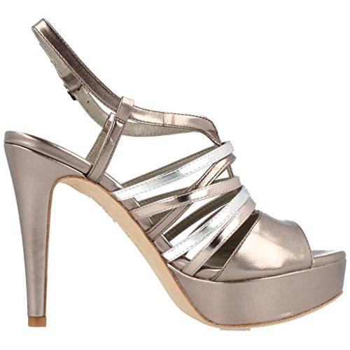 Luciano Barachini Damen Sandalen, Farbe Silber, Marke, Modell Damen Sandalen Maidu Silber Silber