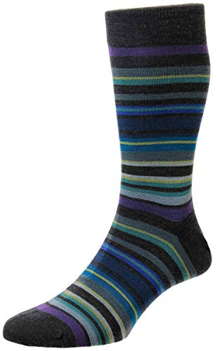 Pantherella Mens Quakers All Over Stripe Merino Wool for sale  Delivered anywhere in USA