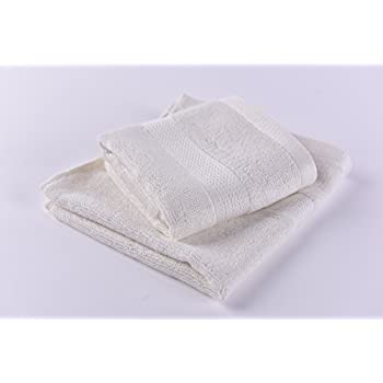 100% Bamboo Bath, Gym Towels. Set of 2. Organic and Soft By Right Purpose