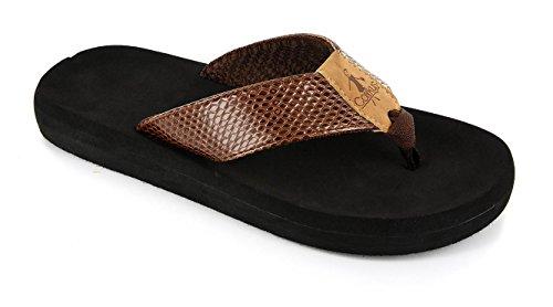 Corkys Footwear Womens Ladies Flip Flop (Chocolate, 7 B(M) ()