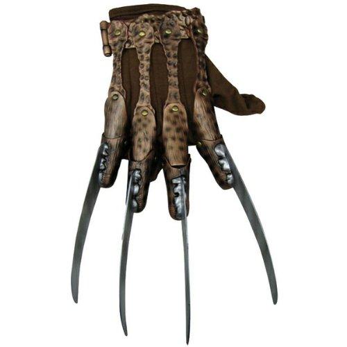 [Deluxe Freddy Krueger Glove Costume Accessory] (Women Freddy Krueger Costumes)