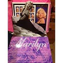 1995 Marilyn Monroe Commemorative First Day of Issue Souvenir Ceremony Program with Sheet of 20 Universal Studio Cancelled Stamps (1st in Legends of Hollywood Series)