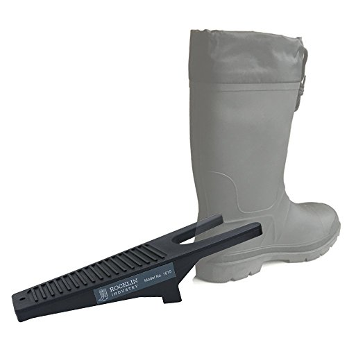 Reinforced Boot Jack with Plastic Composite Core, One Size Fits All, Boot Puller Removes Rubber and Cowboy Boots - Puller Boot Jack