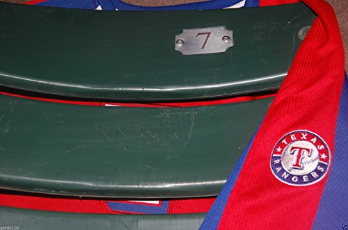 TEXAS RANGERS #7 Seatback Pudge Rodriguez BALLPARK ARLINGTON Stadium Chair Back - Ballpark Texas Arlington Rangers
