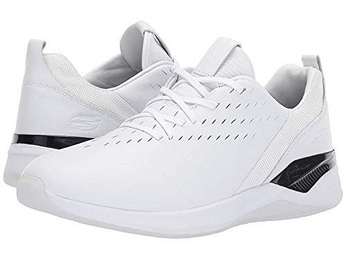 Skechers Men's Modena Valburn White/Black 11 D US (White Skechers Shoes For Men)