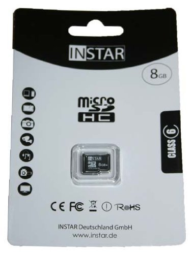 INSTAR Tarjeta SD Micro SDHC de 8 GB.: Amazon.es: Informática